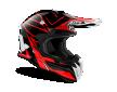 Κράνος Airoh Terminator Open Vision Shock κόκκινο