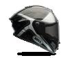 Κράνος Bell Prostar Tracer μαύρο-ασημί