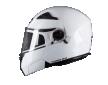Κράνος Pilot Turn SV άσπρο