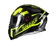 Κράνος Pilot Snake fluo κίτρινο