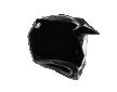 ΚΡΑΝΟΣ AGV AX-9 DUAL GLOSS BLACK