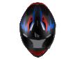 Κράνος MT Stinger Powered D7 mat μπλε