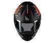Κράνος MT Stinger Danger A1 mat fluo πορτοκαλί