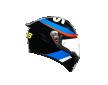 K1 REPLICA ECE2205 - VR46 SKY RACING TEAM BLACK/RED
