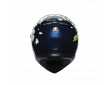 ΚΡΑΝΟΣ AGV K3 SV E2205 MULTI - BUBBLE BLUE/WHΙΤΕ/YELLOW FLUO