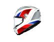 Κρανός AGV K6 E2205 MULTI - HYPHEN WHITE/RED/BLUE
